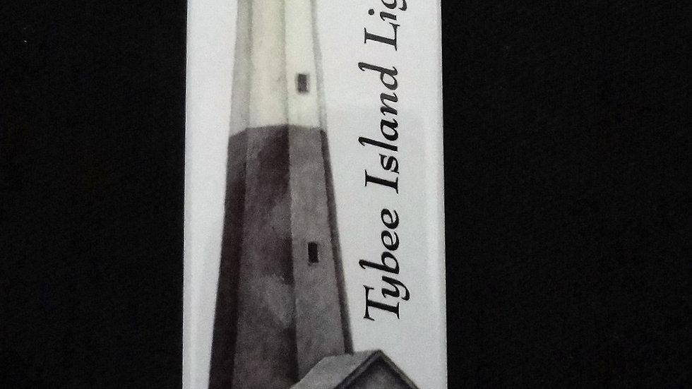 Tybee Island Lighthouse Tall Manget
