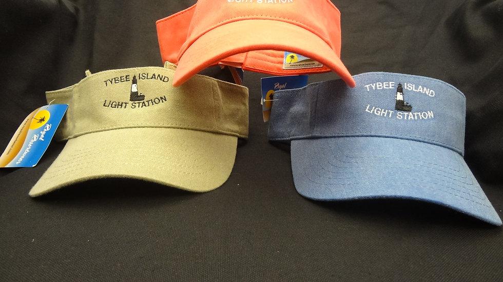 Tybee Light Station Visor
