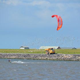 Kitesurfen - op aanvraag