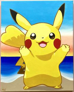 Beachy Pikachu