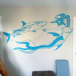 Shark and Mermaid