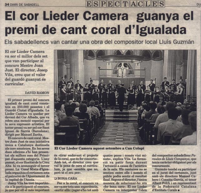 Concurs de Cant Coral d'Igualada