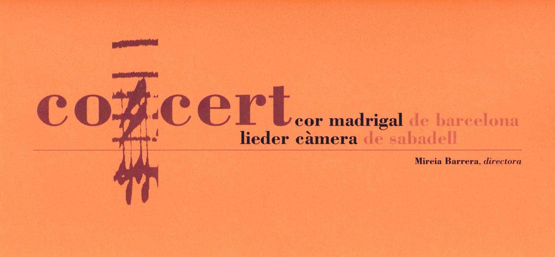 Obres de Schütz, Monteverdi i Vila i Casañas