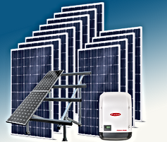Kit solar Solaris Enerxía