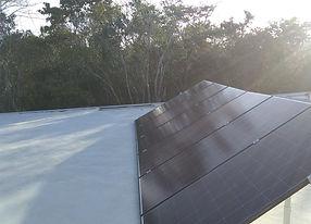 Panel solar Cozumel