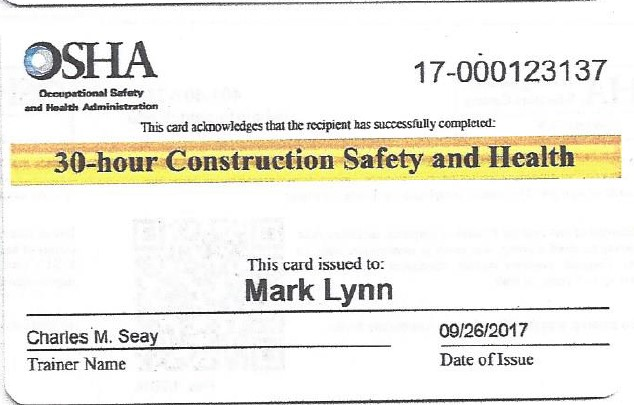 Mark Lynn OSHA 30.jpg
