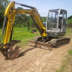 We have tons of equipment to get the job done for you!
