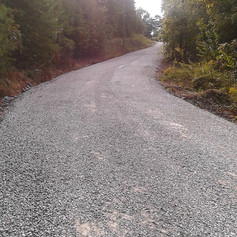 Gravel Road Upgrade