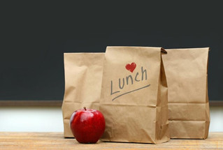 Sack Lunch in the Courtyard
