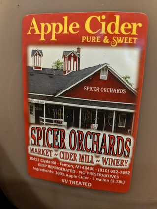 WE LOVE SPICER'S ORCHARD