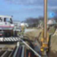 排水機能付鋼矢板圧入工法01