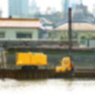 排水機能付鋼矢板圧入工法02