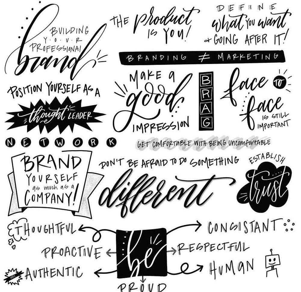 Personal Brand Session Sketch Note