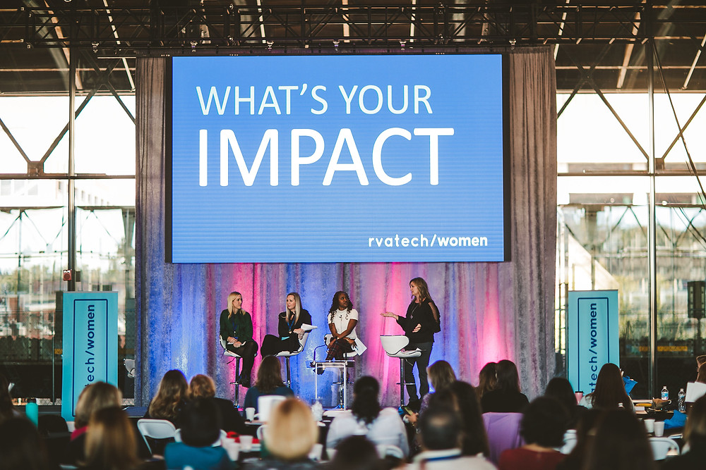 rvatech/women 2018 conference personal brand panel photo