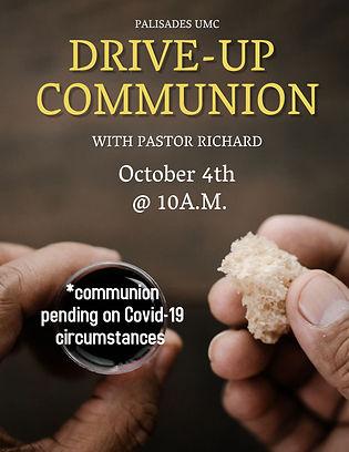 Copy of Church Communion Sunday Flyer Te