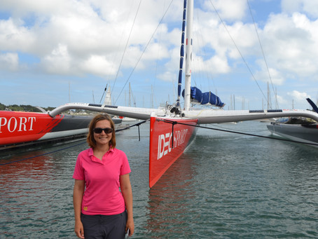 Next to the World Record Holder in Trinite Sur Mer