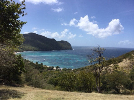 The windiest anchorage in the West Indies?