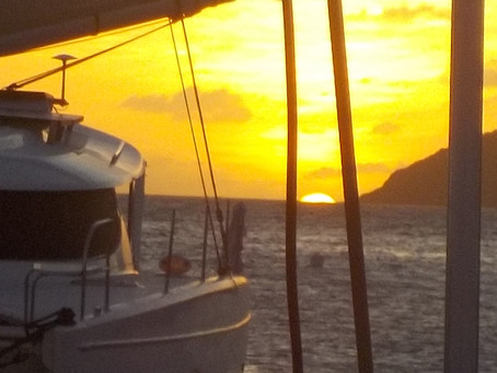 A short passage North to St Lucia