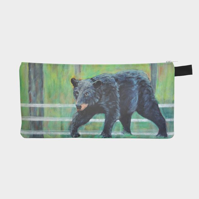 """The Bear, Pencil Case 9"""" x 4"""""""