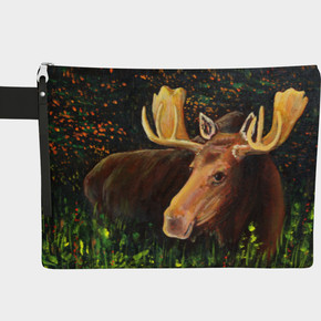 """The Moose, Zipper Carry All 10"""" long"""