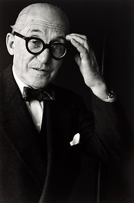 Gisäle-Freund-Le-Corbusier-Paris-1961-∏-