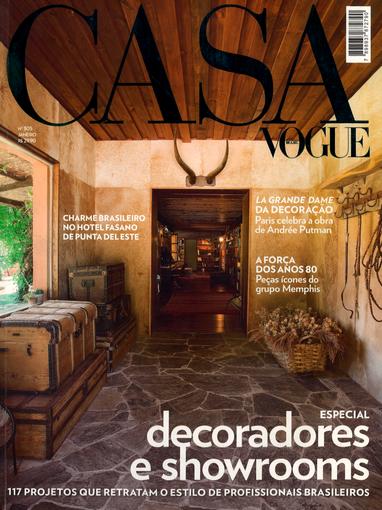 Casa Vogue Especial Decoradores e Showroom 2011
