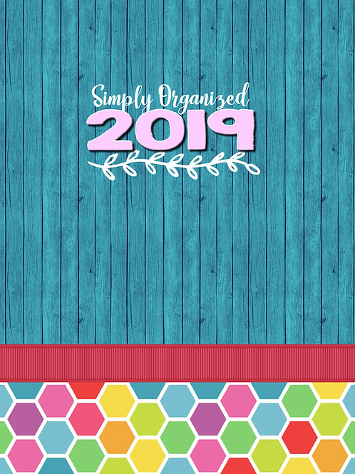 2019 Simply Organized Planner