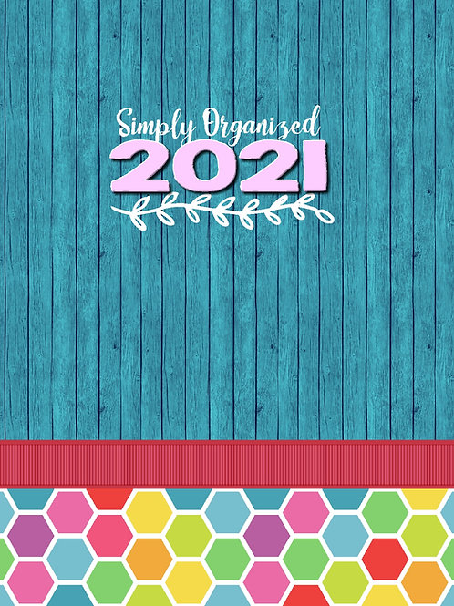 2021 Simply Organized Planner