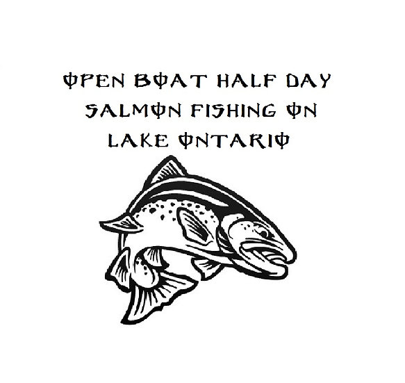 OPEN BOAT Half day - 5 hrs Salmon fishing
