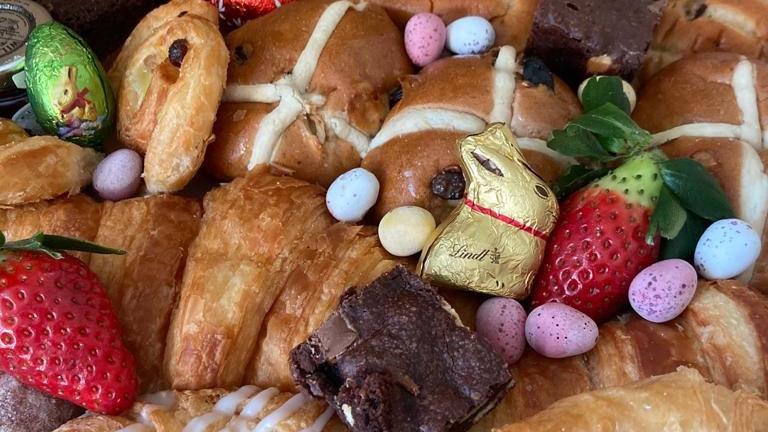 Easter Breakfast Platter