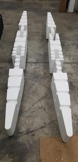 9ft RAW Foam kit (Pontoons only)