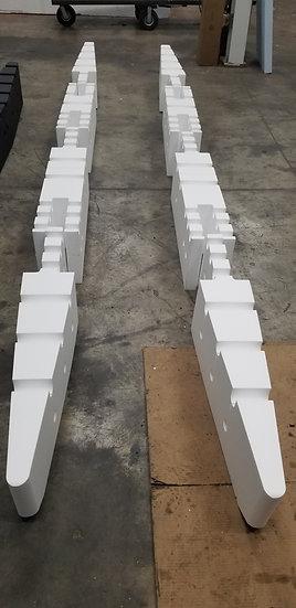15ft RAW Foam Kit (Pontoons Only)