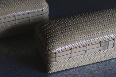 中村圭 竹の網代編み小物入れ/Braided accessory case