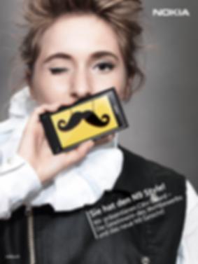 Nokia Design Fotografie Werbung Kampagne Design Wettbewerb