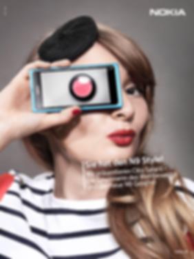 Nokia Design Fotografie Werbung Kampagne Smartphone Wettbewerb