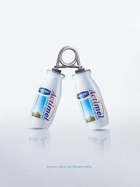 Actimal Kampagne Anzeigen Design Werbung Konzept Grafik Logo