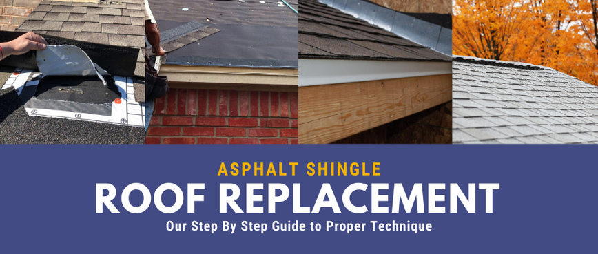 Asphalt Roof Replacement: The Guide