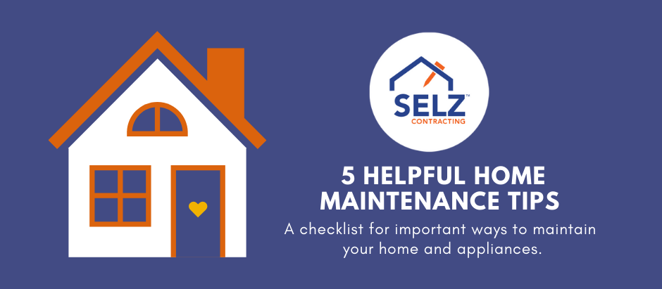 5 Home Maintenance Tips You Can Do Yourself [Infographic]