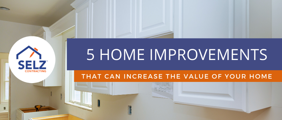 5 Home Improvement Ideas For Increasing Value