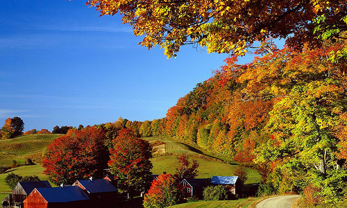 Top Fall Foliage Season Destinations in North America.