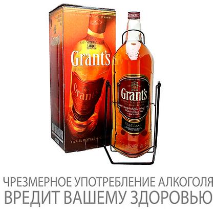 Виски GRANTS в подарочной упаковке, на качелях, 4.5 л