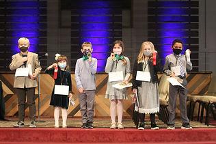 Lower School Spelling Bee winners