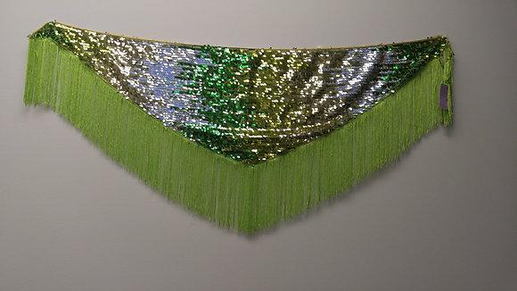 Green Mermaid Sequin Scarf