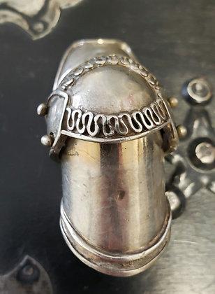 925 Finger Armor Ring 11.5