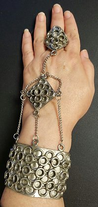 Heavy Medieval Styled Hand Flower