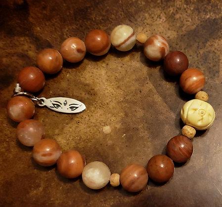Shimmy Chic Jasper Ceramic Bracelet