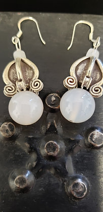 White Stone Hill Tribe 925 Silver Earrings