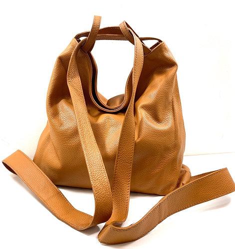 Sac / sac à  dos jacinthe Camel claire