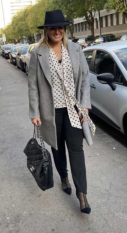 Manteau gris
