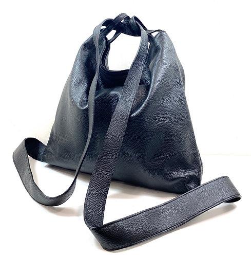 Sac /sac à dos jacinthe noir